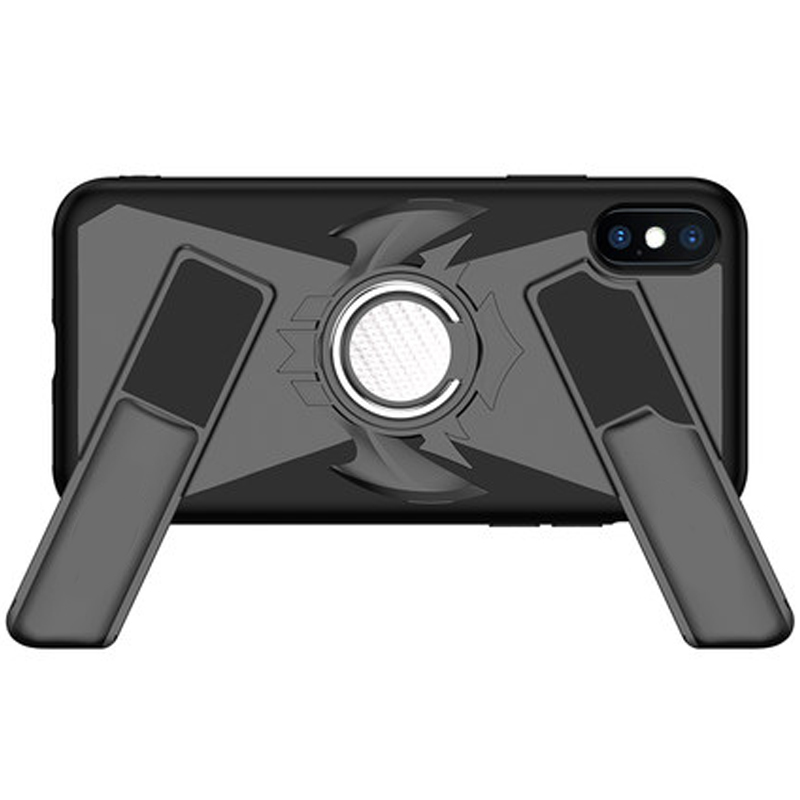 [Silm Protable][Car Magnetic Chuck][Luxury Game Consoles] Anti-Scratch Stealth Ring Frame Kickstand Gamepad case