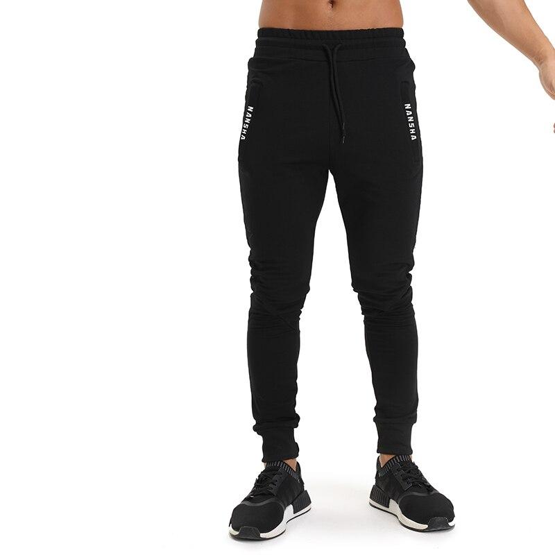 2018 Frühling Herbst Marke Turnhallen Männer Jogginghose Jogginghose Männer Joggers Hosen Sportbekleidung Die Hochwertigen Casual Hosen