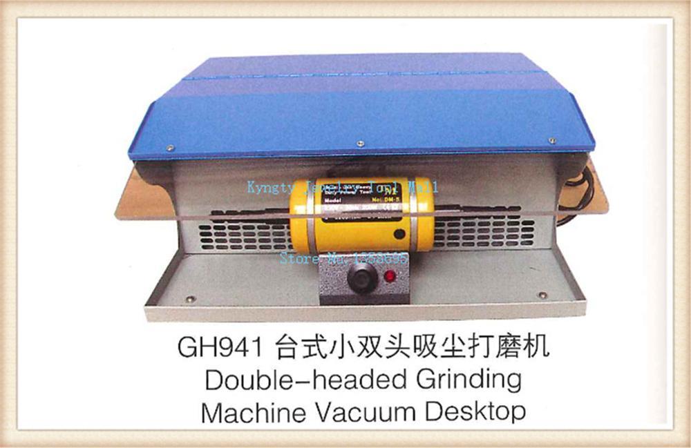 Полировка Двигатель с пылесборником скамейки станки Полировка машины 220 В полировки ювелирных изделий Двигатель