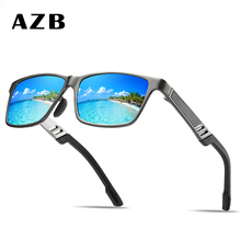 AZB 2018 High Quality Men Polarized sunglasses Male Driving Sun Glasses Fashion Polaroid Lens Sunglass Gafas de sol masculino