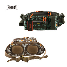 Kingdom fishing bag Multifunctional Large-size Waist Shoulder Fishing Lure Reel Tackle Bag model lyb-12