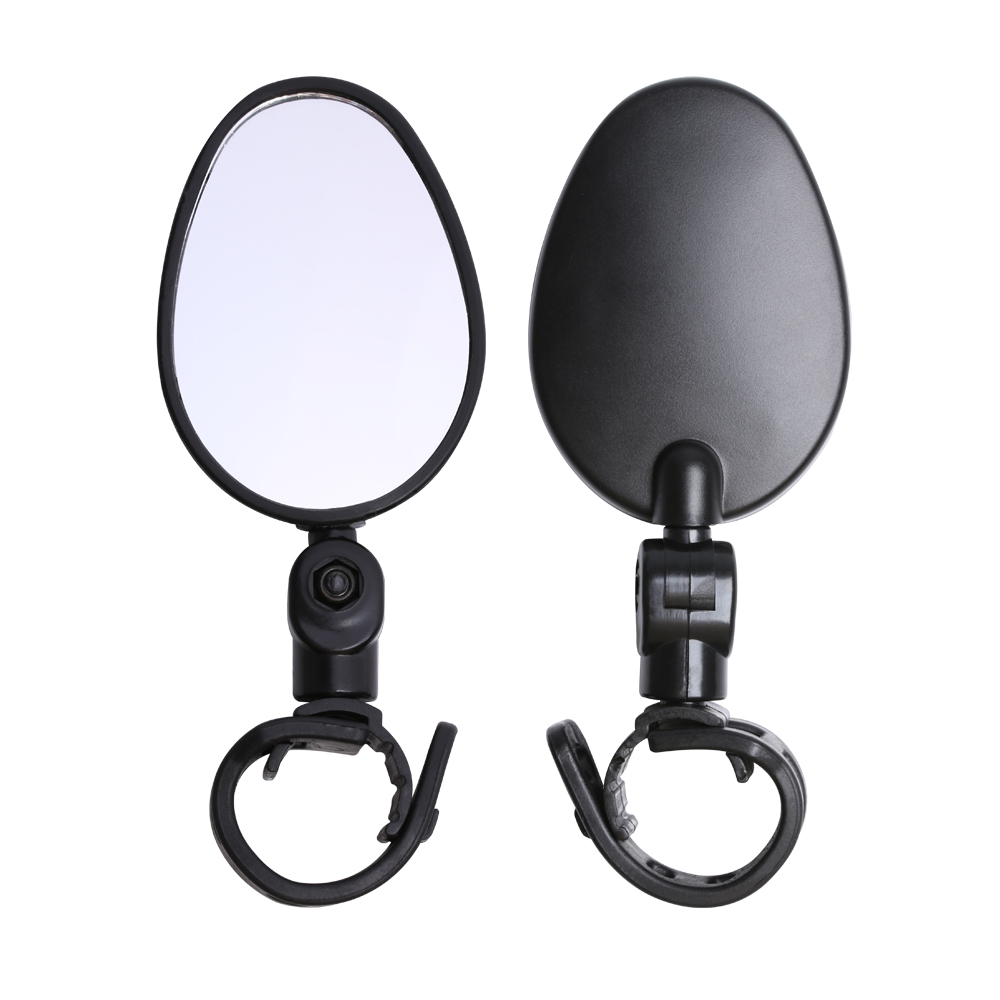 Rotate Cycling Handlebar Bicycle Mirror Bike Rearview Motorcycle Looking Glass