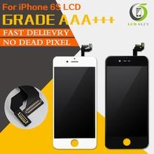 Wysokiej jakości AAA + + nie martwy piksel LCD dla iPhone 6S wyświetlacz LCD wysokiej gamy kolorów z ekranem dotykowym Digitizer zgromadzenie prezent narzędzia