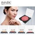 IMAGIC Corar Maquiagem Suave Extrato Natural Da Planta 4 Cores Pressionado Pó Blush Baked Palette Cosméticos Set