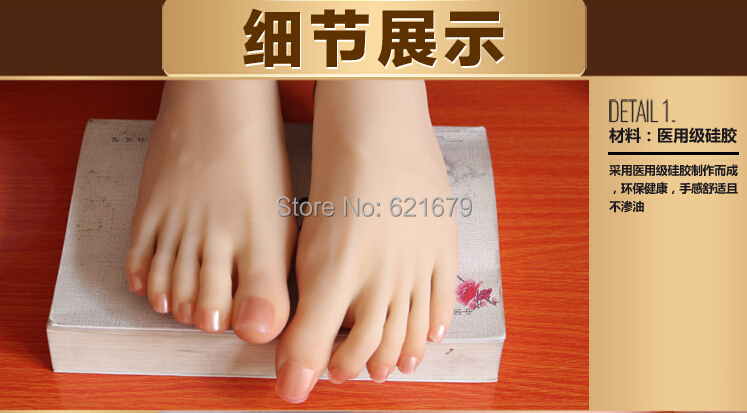 NEW sexy girls gorgeous pussy foot fetish feet lover toys clones model high arch sex dolls product feet worship 25