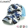 Climate verano colorido pesca caza camouflage mesh trucker caps sombreros del cubo para el hombre adulto mujer ajustable gorras