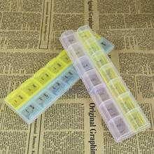 7 Days Weekly Tablet Pill Box Medicine Storage Organizer Container Case Holder