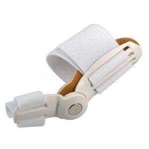 Image 1 - El dedo gordo del pie juanete dispositivo férula enderezador hallux valgus Pro aparatos para dedos del pie corrección dolor en el pie alivio pulgar importa ortésico diario 1pc