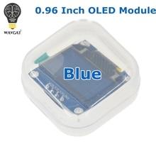 WAVGAT Blue color 128X64 OLED LCD LED Display Module For Arduino 0.96″ I2C IIC SPI Serial new original
