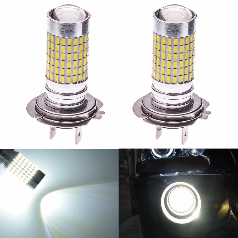 Katur 2pcs H7 Led Bulb for Cars Fog Lights Driving Driving font b Lamp b font