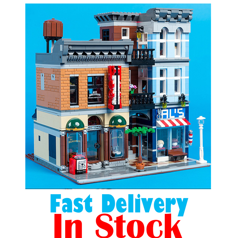High Quality Lepin 15011 City Street Creator Expert Resturant Figures Avengers Set Assemble Building Blocks Kits Toys a toy a dream lepin 15008 2462pcs city street creator green grocer model building kits blocks bricks compatible 10185