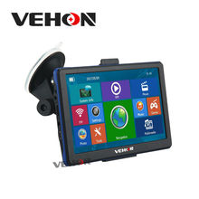 VEHON 7 pulgadas de Navegación Gps 256 MB 8 GB Construido En Bluetooth y AVIN FM con Pantalla Capacitiva Camión Navegador de Coche