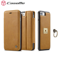 CaseMe Case For IPhone 7 7Plus 6 6s Plus Cover Luxury Leather Phone Cases Stand Flip