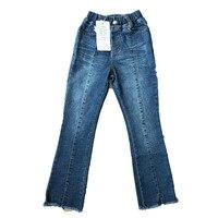 High Quality Teens Girls Winter Autumn Fashion Boys Pants Kids Trousers Girls Baby Children Jeans Teenage Elastic Trousers CA299