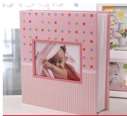 6 inch 200 grow baby photo album newborn baby gift corners for