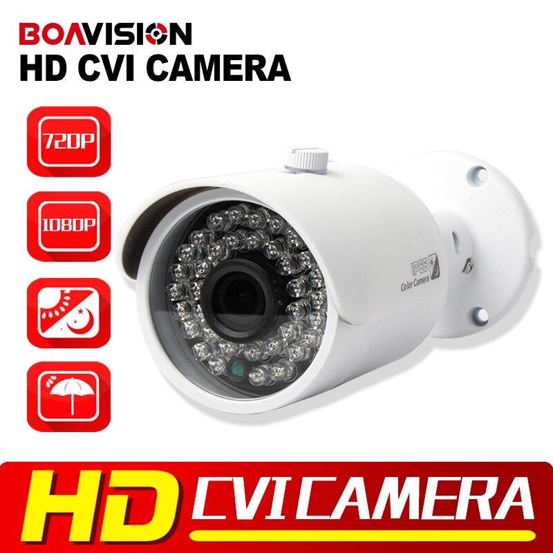1MP 720P Outdoor HDCVI Camera 3.6mm Lens Real-Time Waterproof CCTV HD CVI Camera 2MP 1080P Bullet  For CVI DVR BOAVISION