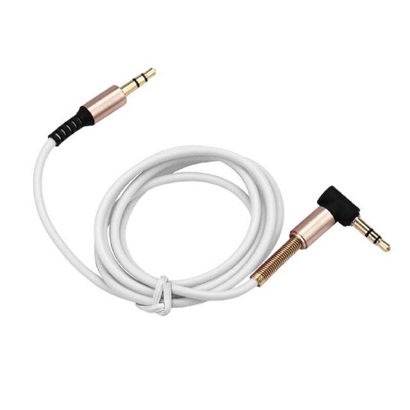 Go2link Весна защитный 3.5 ММ мужчинами стерео аудио AUX вспомогательный кабель для iPhone 6 5 5S для iPad музыкальный плеер