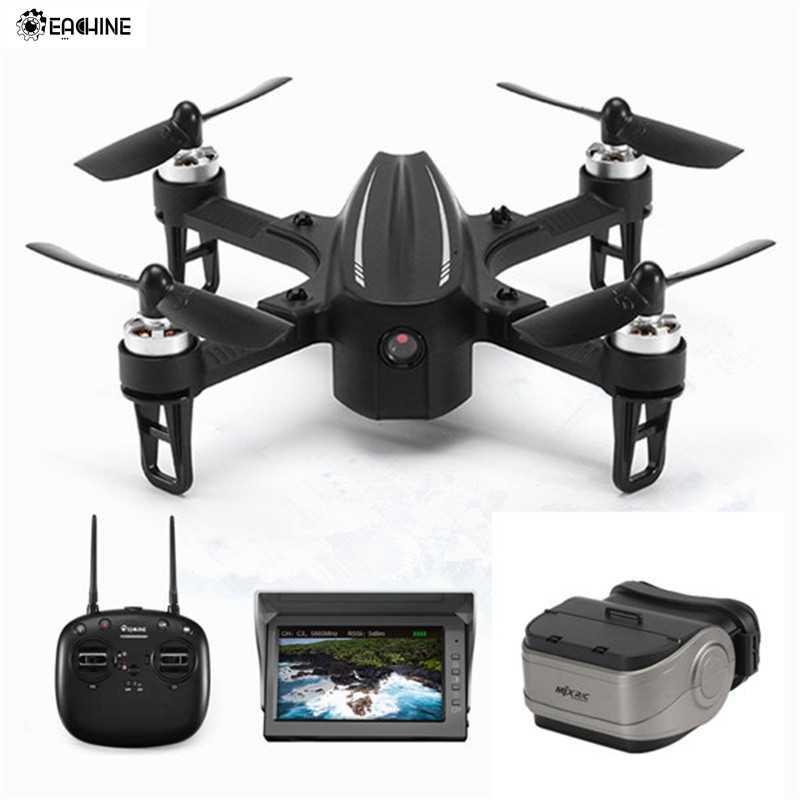 Còn Hàng Eachine EX2mini Không Chổi Than 5.8G FPV Camera Góc Chế Độ Acro Chế Độ Ánh Sáng Chế độ không đầu RC Drone quadcopter RTF