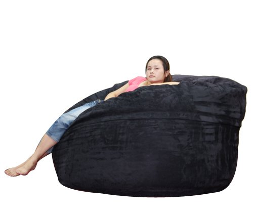 Outstanding Us 75 0 4Ft Visi Foam Beanbag High Quality Microsuede Foam Bean Bag Cover Only In Living Room Chairs From Furniture On Aliexpress Com Alibaba Dailytribune Chair Design For Home Dailytribuneorg
