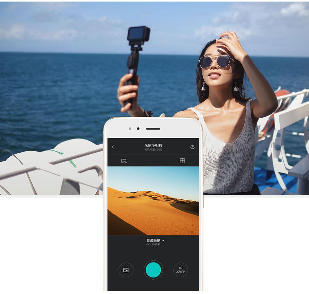 Original Xiaomi Mijia Mini Action Camera Digital Camera 4K 30fps Video Recording 145 Wide Angle 2.4 Inch Touch Screen Sport Smart App Control ok (19)