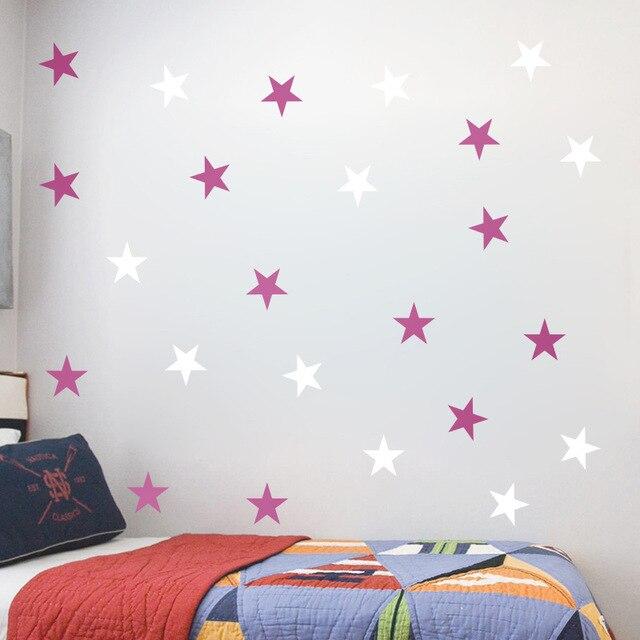 Black Stars 39pcs 3-5cm 8