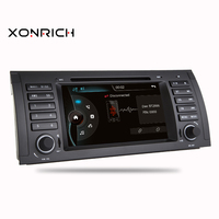 1 din car dvd Autoradio multimedia player For BMW X5 M5 E39 E53 with stereo video GPS Navigation can bus BT SWC RDS CAM