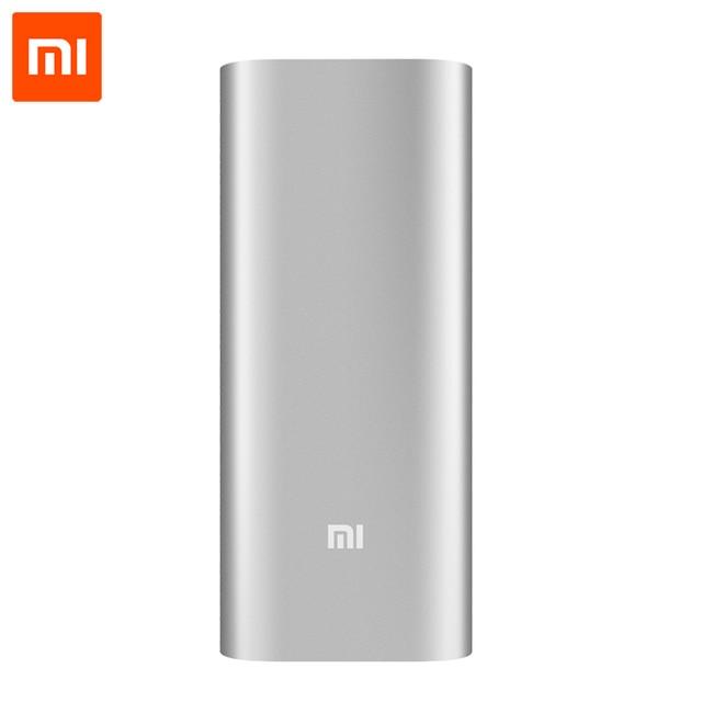 Xiaomi Powerbank 16000mAh внешний аккумулятор Powerbank 18650 2-USB портативное зарядное устройство