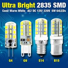 TSLEEN G4 G9 E12 E14 B15 LED Lamp 3W 4W 5W 6W 7W 8W 9W Corn Bulb SMD 2835 Lampada LED Light 360 Degrees Replace Halogen Lamp(China)