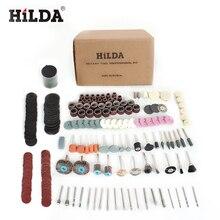 HILDA 248PCS Accessori Utensile Rotante per Una Facile Taglio Grinding Levigatura Intagliare e Lucidatura Strumento di Combinazione Per Hilda Dremel