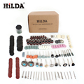 HILDA 248PCS Rotary Tool Accessories for Easy Cutting Grinding Sanding Carving and Polishing Tool Combination For Hilda Dremel