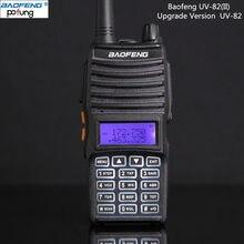 Baofeng New Arrival UV-82 (II) versão De atualização Do UV-82 Handheld 2 Rádio bidirecional Baofeng Transceptor Dual Band 136-174 MHz/400-520 MHz