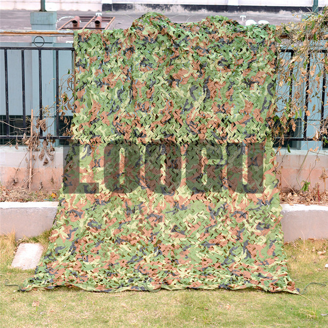 4M*8M Military Camouflage Net Hunting Blind Tree Stand Car-covers Sun Shelter Tent & 4M*8M Military Camouflage Net Hunting Blind Tree Stand Car covers ...