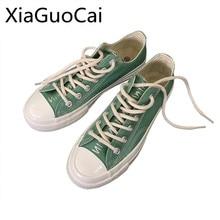 Peppermint Green Harajuku Style Unisex Canvas Shoes Fashion Men
