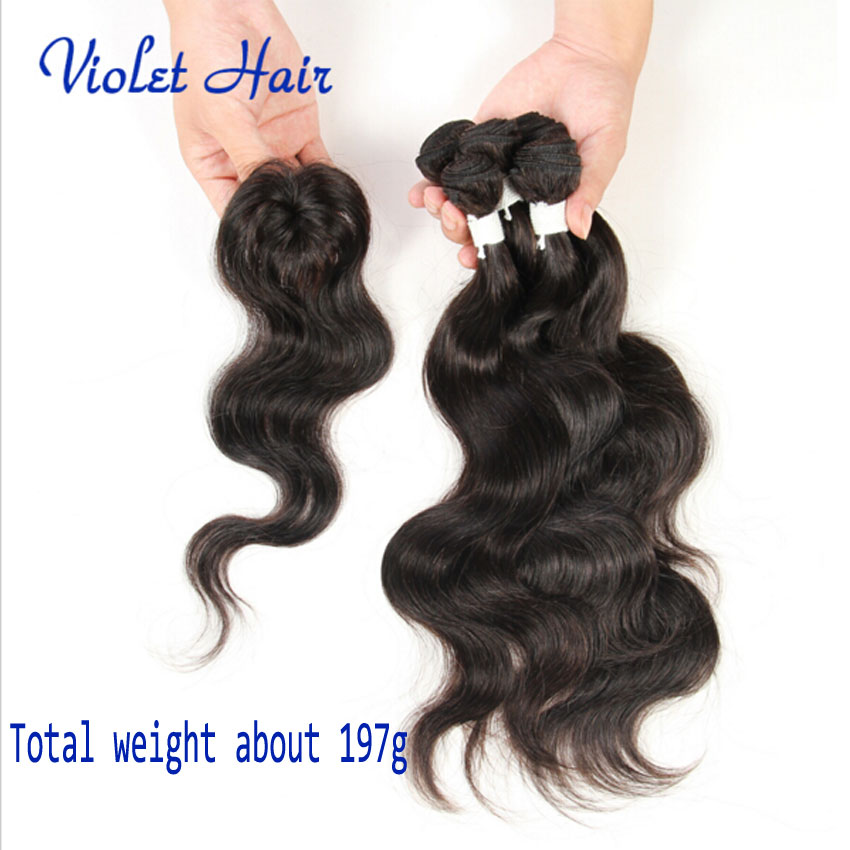 Cheap All In One Hair Weave Remy Indian Hair