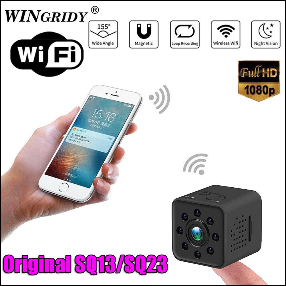 SQ23 SQ13 Original Mini cámara WiFi Cam Full HD 1080 P HD deporte DV Recorder 155 noche visión pequeña cámara de acción videocámara DVR SQ 11