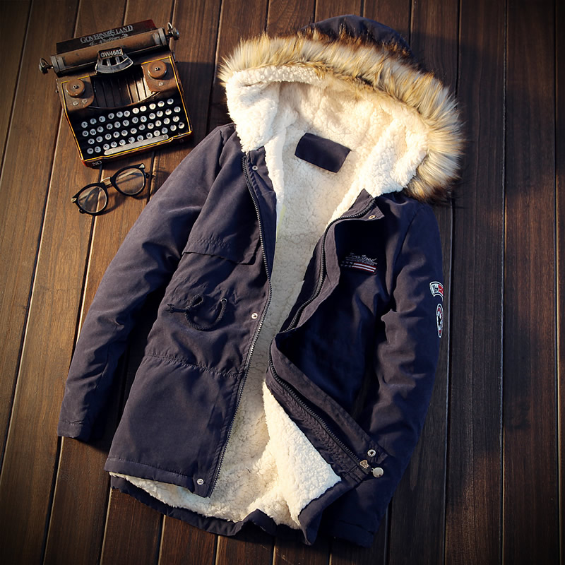 Left Rom 2018 New Winter Warm Men S Fashion Solid Color Casual