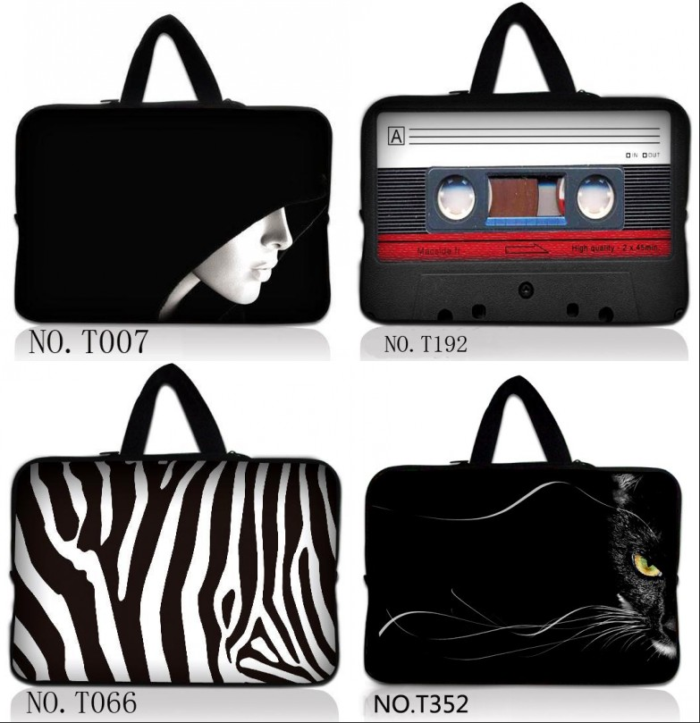 2017 Fashion 11,12,13,14 15.6 17 13.3 15.6 11.6 Laptop Bag Notebook Bag Men Women Handbag Sleeve for Macbook Air Pro Case