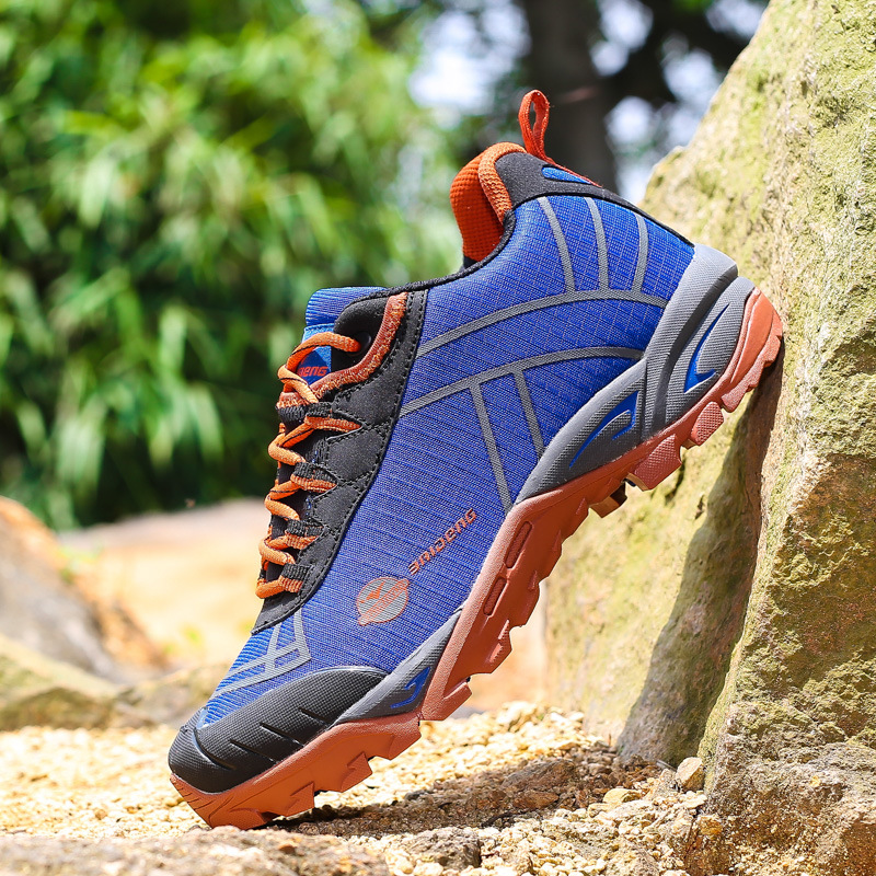 men outdoor shoes breathable hunting climbing mountain shoes camping trekking sport hiking shoes men ankle boots sneakers 365h