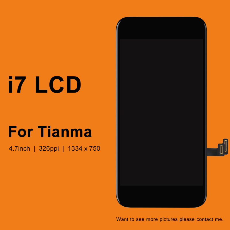 10PCS Display For Iphone 7 LCD Screen For Tianma Quality Touch Screen With 3D Touch No Dead Pixel For Iphone 7 LCD Digitizer