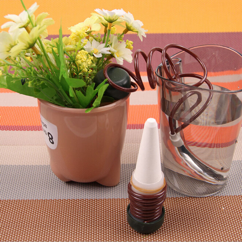 Flower pot automatic plant waterer watering device drip device 2pcs / set Creative gardening tools water cans