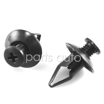 500x Nylon case for Ford 2001 on  #W706713-S300 Bumper Push-Type Retainer Clips (18 x 18 x 8mm)