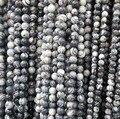 AAA + Negro Red zebra Rayas Cuentas de Piedras Naturales Para La Joyería DIY Collar de la Pulsera de 4mm 6mm 8mm 10mm 12mm Strand16''