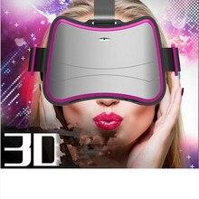 2016 VR 3Dภาพยนตร์วิดีโอหน้าจอมินิละครล่าสุดQuad-coreสมาร์ทแว่นตาความจริงเสมือนหัวติดเครื่อง