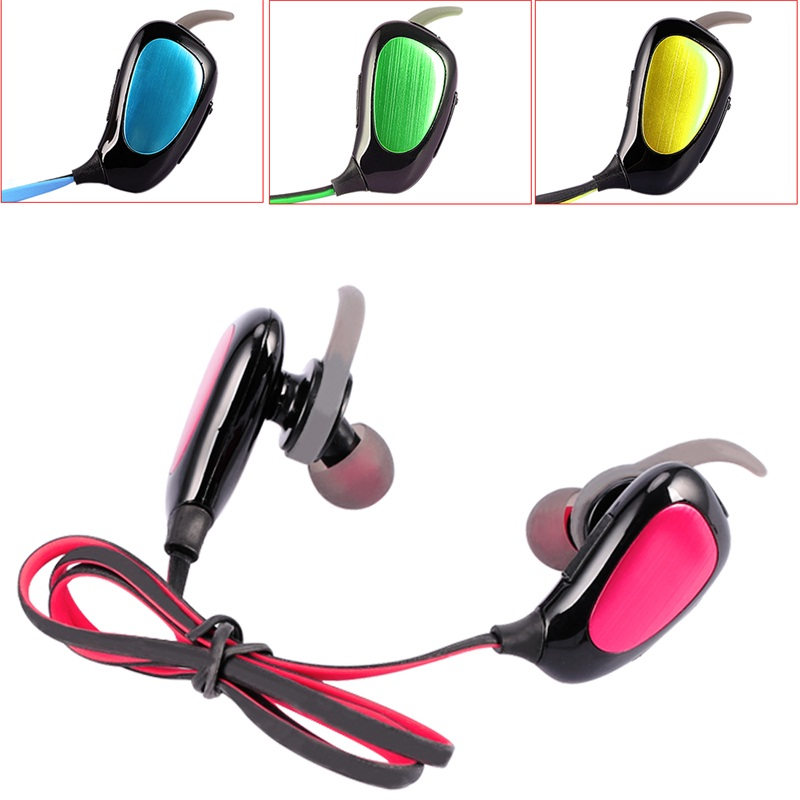 Stereo Mini Wireless Bluetooth Headset Handsfree Earphone V4.1 For Smart Phones
