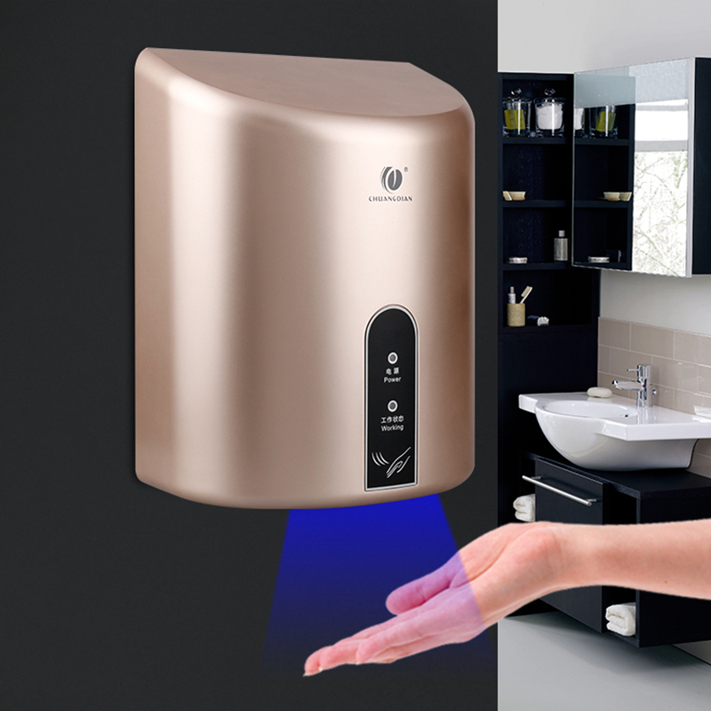 high speed Hotel bathroom Hot and cold wind Dryer automatic Hand dryer Fully automatic induction Blowing mobile phone цена