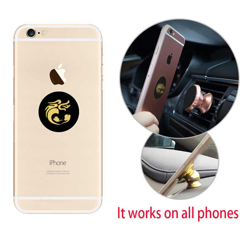 40x0.3 milímetros chapa de Metal personalizado para o Ímã Suporte Do Telefone Móvel Para Suporte Do Telefone Do Carro Magnético titulares supporto cellulare auto