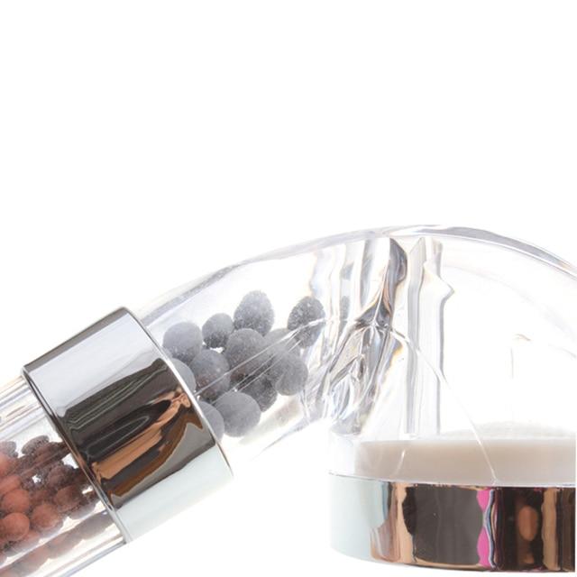Handheld Water-saving Bath Shower Nozzle Sprinkler Sprayer Filter Transparent Hand Shower Head Rainful Shower Head Showerhead