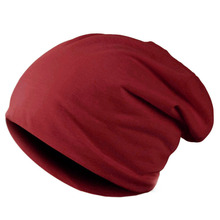 Unisex Knitted Solid Color Winter Cap