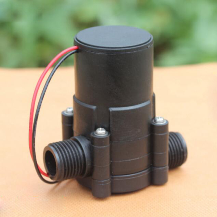 Newest DC Hydroelectric Power Hydro Generator Tap Flow Micro-hydro Piped Water Generator Pipeline Water Charger