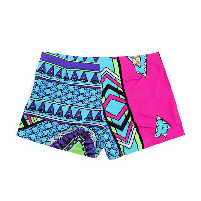 Summer Retro Sexy Women High Waist Shorts Floral Print Shorts Fashion